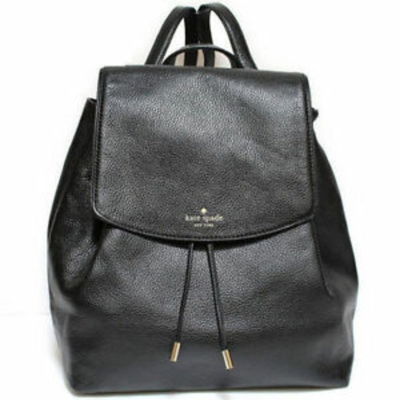 Kate Spade Mulberry Street Small Black Backpack